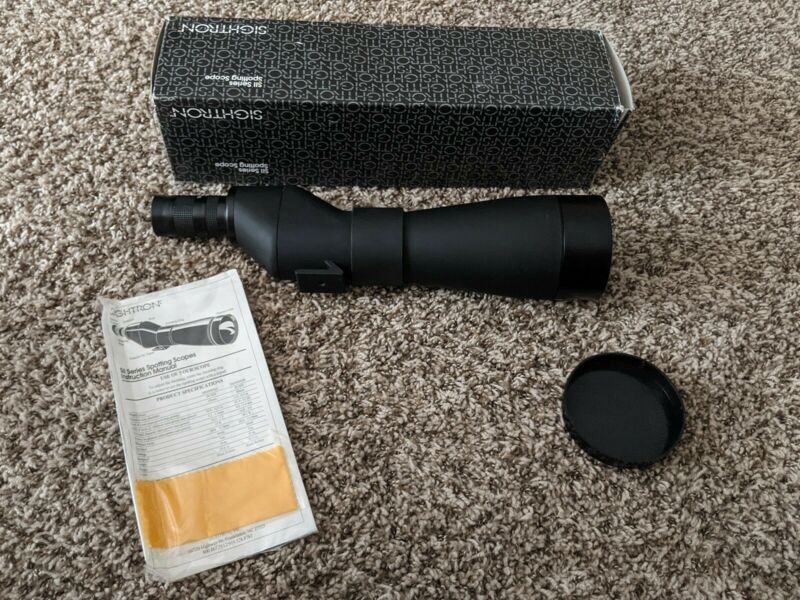 Sightron SII 20-50X80mm Spotting Scope - Barely Used with Box and Front Cap