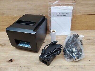 Thermal Receipt Printer Mj-8250 Usb Lan Rs232 Interface High Speed Printing