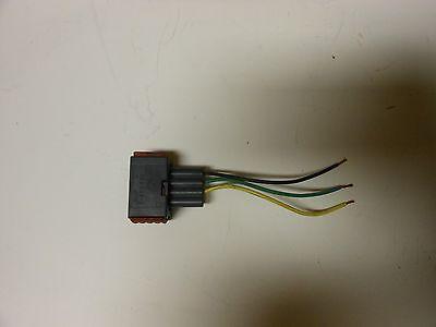 99-03 Saab 9-3 Headlight Wiper Motor Wiring Connector Plug OEM Fast Shipping!!!! (Saab Headlight Wiper)