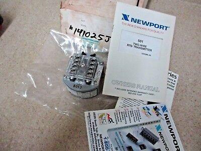 Newport 501 2-wire Rtd Transmitter 141025j Nib