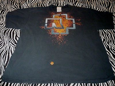 Rammstein Shirt ( Used Size XL )  Distressed Condition!!!