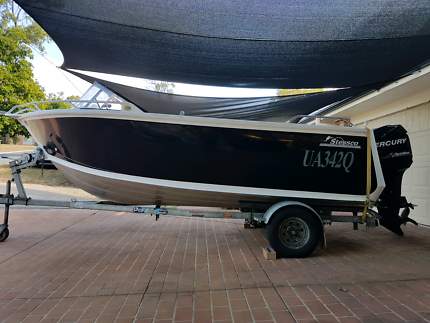 Custom alloy plate boat