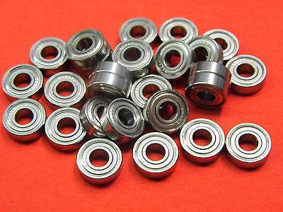 10 Stück Miniatur Kugellager 623 ZZ  GRW  3 x 10 x 4 mm