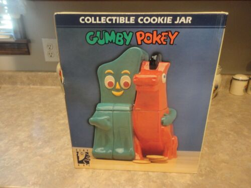 Gumby And Pokey Figure Cookie Jar 1997 Clay Art