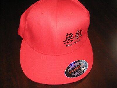 MU-TE-KI SONY YUPOONG FLEX FIT S/M CAP HAT- 63% Polyester/34% Cotton/3% Spandex 3 Flex Fit Cap