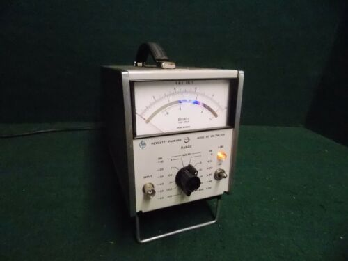 HP Hewlett Packard 400E AC Voltmeter