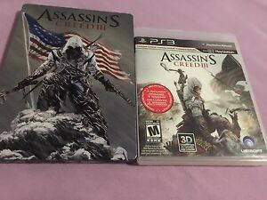 Assassin's Creed III Steelbook