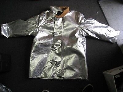 Fire Dex Firefighter Proximity Jacket Size 48 X 35 R Aluminized Turn Out
