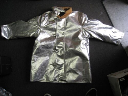 FIRE DEX Firefighter Proximity Jacket Size 48 x 35 R Aluminized Turn Out