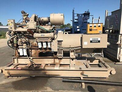 Cummins Diesel Generator 5ati224858c1 Only 440 Hours