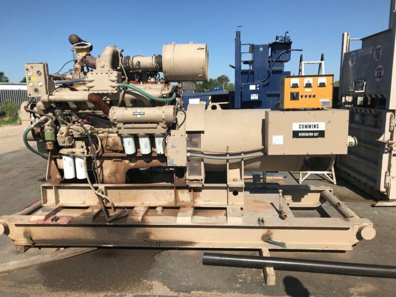 Cummins Diesel Generator 5ATI224858C1 ONLY 440 HOURS!!