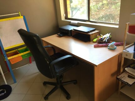 Free! Office Desk and Highback Chair