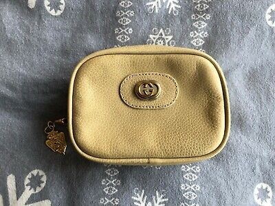 Gucci Genuine Vintage Cosmetic Bag