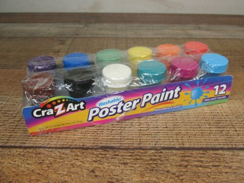 Washable Kids drawing Paint by Cra-Z-Art 10 Colors (New)