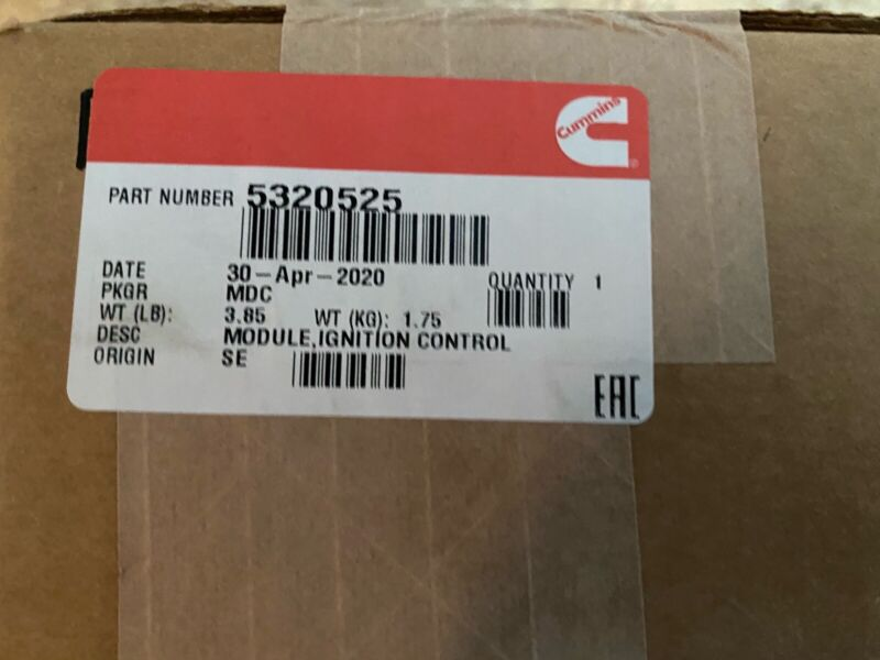 Ignition control  module new Cummins Part Number 5320525 Boxed