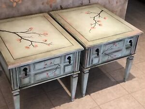 Refinished antique Kroehler end/ side tables ** MAKE AM OFFER **