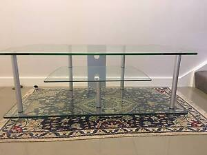 Glass Entertainment Unit Willoughby Willoughby Area Preview