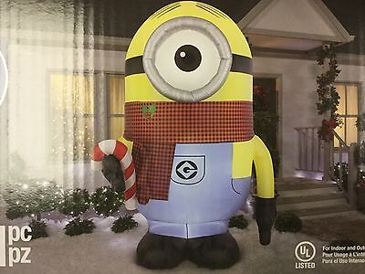 Gemmy 9' Minion Stuart blow up Christmas inflatable