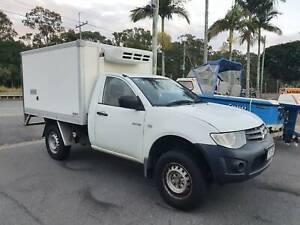 2012 Mitsubishi Triton - Refrigerated Ute - Manual - 4 Cyl - Warranty Birkdale Redland Area Preview