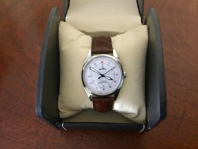 Vintage Roamer Swiss Made Watch