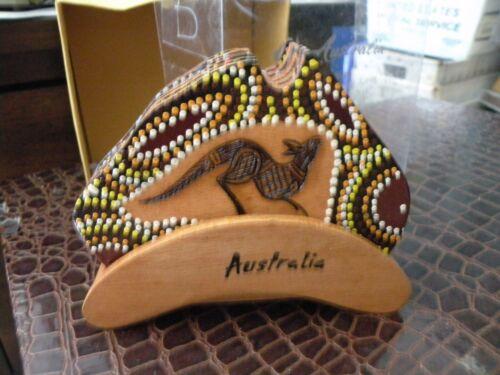 Australian Aboriginal Art 6  COASTERS, KALTJITI Arts w holder new D2