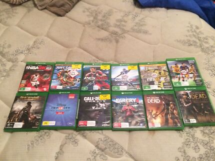 XBOX ONE GAMES (All working) $10-$25 each