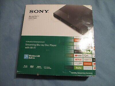 Sony BDP-S3700 Blu-ray DVD Player Streaming Wi-Fi Wireless LAN Netflix Vudu PSV