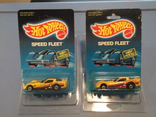 Hot Wheels. Speed Fleet. 2 Firebird Funny Cars. Blackwall-Dif Tampos In 1988 BPs - $10.00