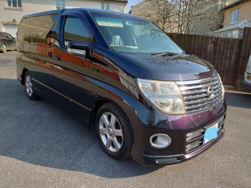 Image of Nissan Elgrand E51Highway Star imported 2017 Low mileage perfect for a camper