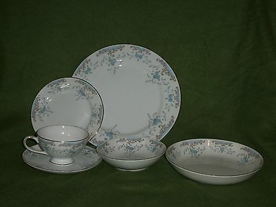 6 piece place set of Imperial China, W Dalton, 5303, Seville