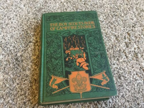1921 THE BOY SCOUTS BOOK OF CAMPFIRE STORIES AMERICA VERY RARE