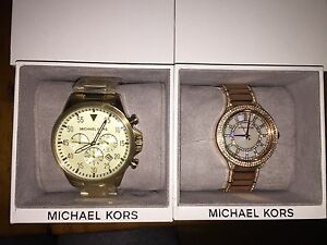 Brand New! His and Hers Michael Kors Watches