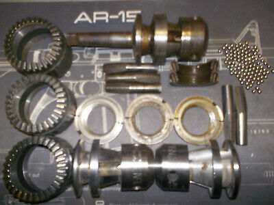 Jacobs Ball Bearing Drill Chuck 16n Parts Jaws Nuts Sleeves Etc