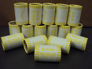One Unsearched Kennedy Half Dollar Rolls Hunt For POSSIBLE Silver Coins