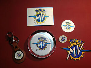 Mv agusta motorcycles gift set paperweight key ring badge magnet