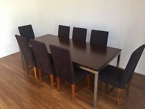 8 seater Dining table and chairs Botany Botany Bay Area Preview