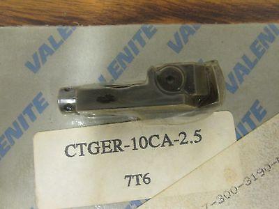 Valenite Indexable Insert Cartridge Ctger-10ca-2.5