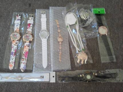 womens watches, necklace, bracelet, all new Brighton Brighton Area Preview