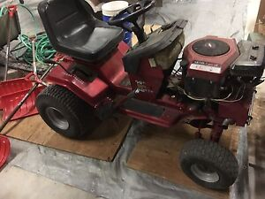 Hot rod riding mower