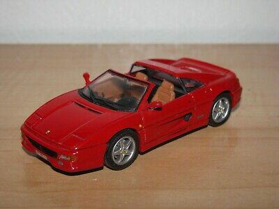 Corgi James Bond GoldenEye Ferrari F355 F 355 Spyder Red 1:43