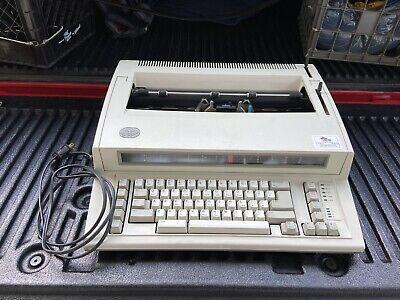 Vintage Ibm Personal Wheelwriter 2 By Lexmark 6781-025 Electric Typewriter