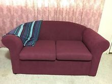 Magenta Couch with blanket Armidale Armidale City Preview