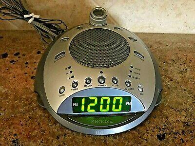 HoMedics SS-4000 Sound Spa Clock Radio & Sound Machine with Time Projection