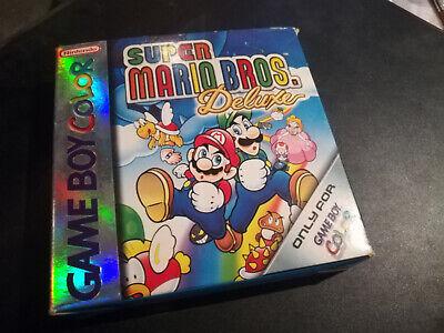 Super Mario Bros Deluxe Gameboy Color PAL FR COMPLET