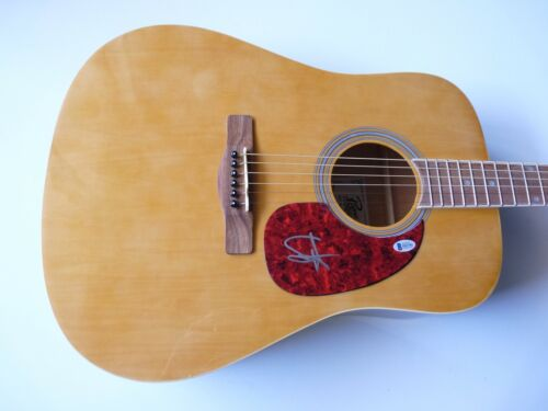 Sammy Hagar Signed Autographed Acoustic Guitar BAS Beckett Certified