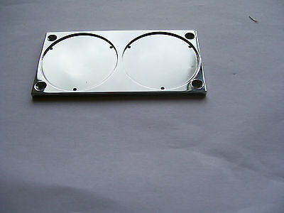 DOUBLE BACKPLATE  FOR HEUER RALLYMASTER MASTER TIME MONTE CARLO AUTAVIA DASH