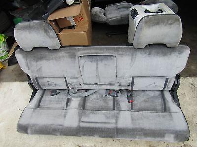 Mitsubishi Delica L300 86-94 3rd row seats camper bed folding seats + headrests