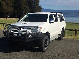 2008 Toyota Hilux 4x4 SR5 Turbo Diesel Wollongong Wollongong Area Preview