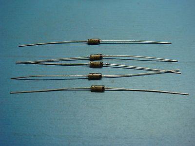 5 Ctp 1n198 80v Germanium Diode Axial Tube Radio Vintage