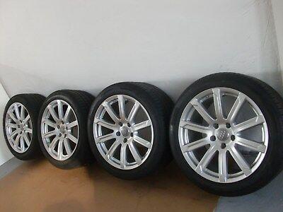 Gebraucht, Original Audi Q7 4L V12 20 Zoll Sommerräder 10 x 20 Pirelli P Zero Felgen S Line gebraucht kaufen  Bamberg